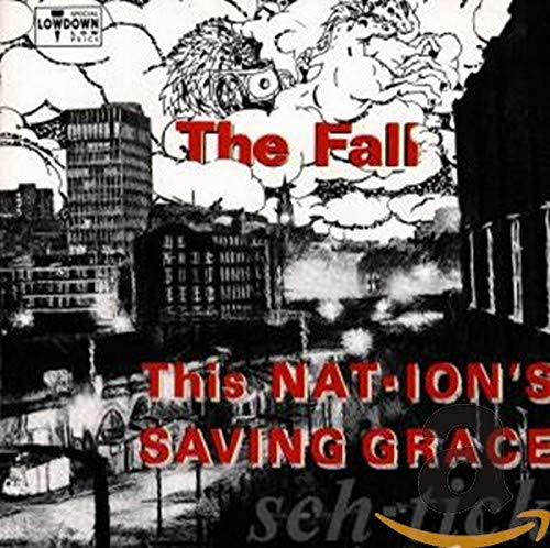 Album cover for This Nation`s Saving Grace