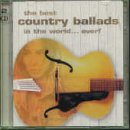 Copertina di album per The Best Country Ballads in the World... Ever! (disc 1)