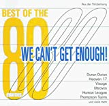 Capa do álbum We Can't Get Enough: Best of the 80's (disc 1)
