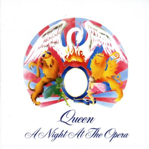 Queen a night at the opera album cover