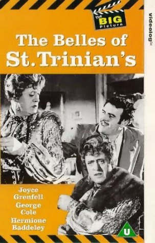 Alastair Sim als Schulleiterin in The Belles of St. Trinians