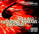 album art to Deep Red / Electronic Warfare / Backdraft