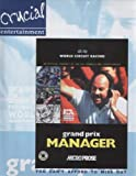 Grand Prix Manager PC Video Game