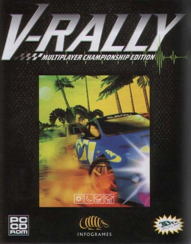 V-Rally, PC Game- 100% genuine original CD