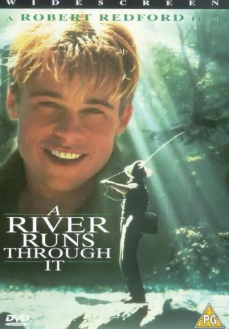 a river runs through it brad pittbrad pitt cute movie river runs directed robert redford