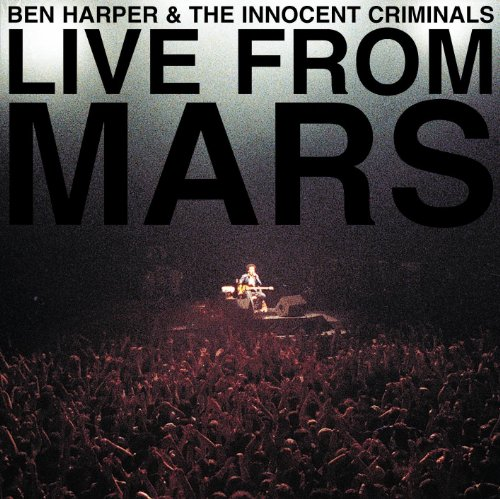 Capa do álbum Live From Mars