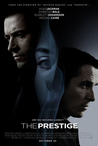 The Prestige DVD cover