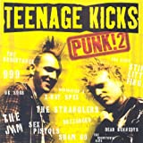 Cubierta del álbum de Teenage Kicks PUNK!2