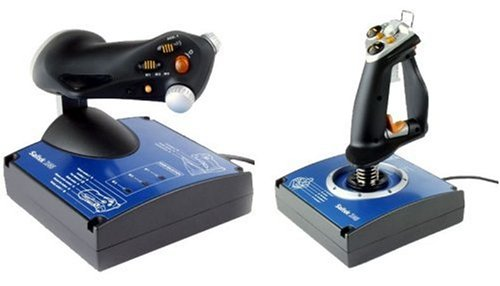Saitek J24C X 45 Digital Joystick & Throttle