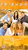 Friends: Series 8 - Episodes 5-8 [VHS] [1995]