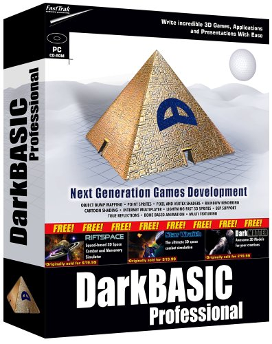 DarkBASIC Professional - write 3D games, applications & presentations