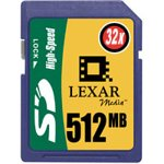 Lexar 512Mb SD Card