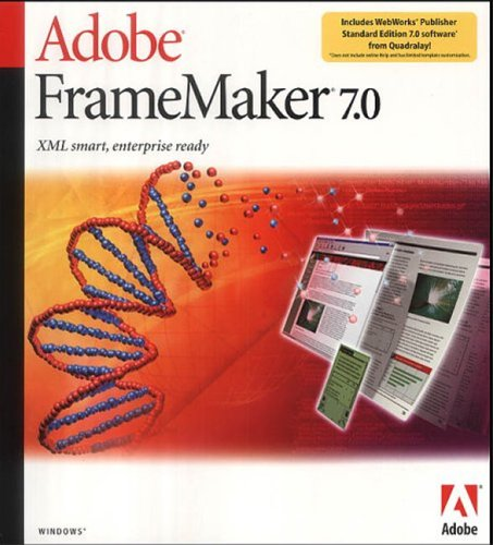 FrameMaker 7.0 Shared Unix