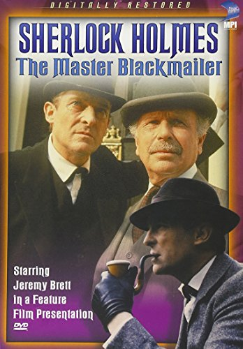 The Master Blackmailer DVD Cover