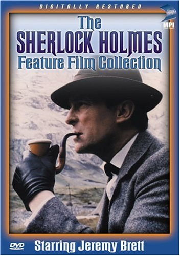 The Sherlock Holmes Feature Film Collection DVD Cover