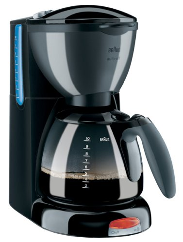 Braun Coffee Maker How To Use : Braun KF550 AromaPassion Coffee maker Compare Reviews Coffee Machines Review Centre