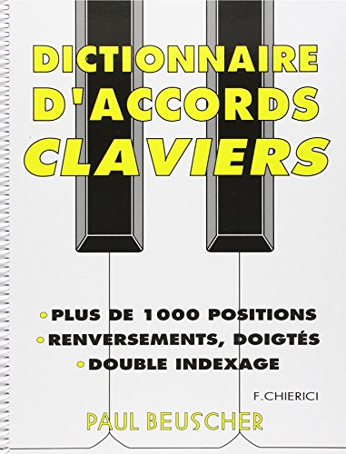 Partition : Dictionnaire d'accords pour clavier