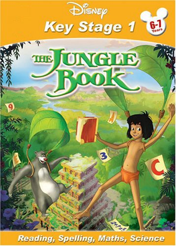 Disney Key Stage 1 The Jungle Book (Reading, Spelling, Maths, Science)
