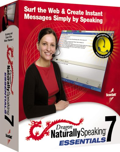 Dragon Naturally Speaking Essential 7.0