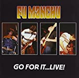 CD-Cover: Fu Manchu - Go for It-Live