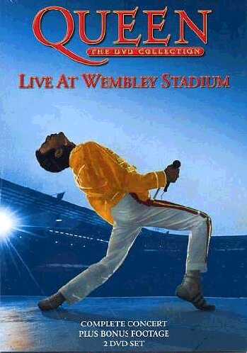 Queen - The DVD Collection: Live At Wembley Stadium (Two Disc Set)