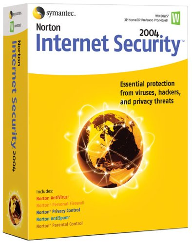 Norton Internet Security 2004 Upgrade (AntiVirus, Firewall, AntiSpam, Privacy & Parental Control)