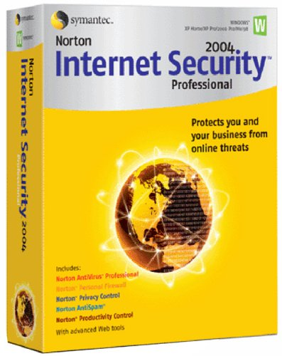 Norton Internet Security 2004 Pro Upgrade (AntiVirus Pro, Firewall, AntiSpam, Privacy & Productivity Control)
