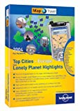 Map &amp; Travel 2004 Europe Top Cities Lonely Planet Highlights for PDAs