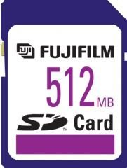Fuji 512Mb SD Card