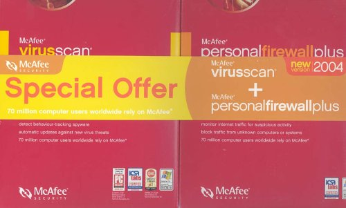 McAfee VirusScan Home Edition 8.0 & McAfee Personal Firewall Plus 5.0 Bundle