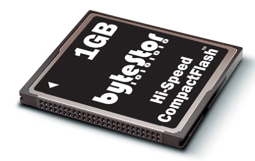 ByteStor Hi-Speed 40x 1GB Compact Flash Card