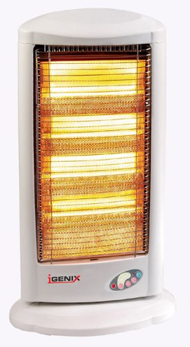 Igenix 1800W Remote Halogen Heater