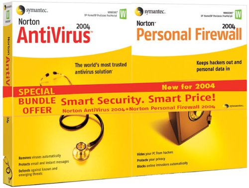 Norton AntiVirus 2004 & Norton Personal Firewall 2004 Bundle