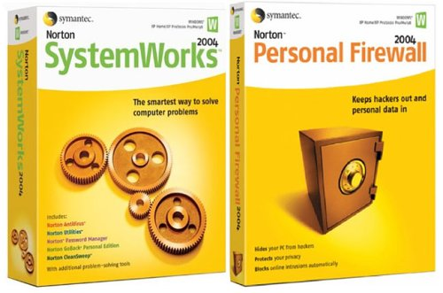 Norton Systemworks 2004 & Firewall 2004 Bundle