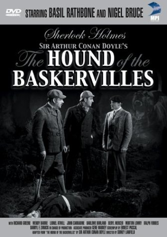The Hound of the Baskervilles DVD Cover
