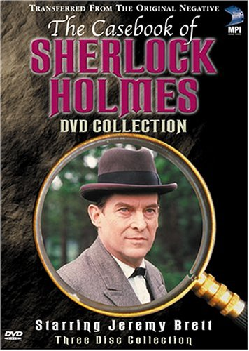 The Casebook of Sherlock Holmes DVD Cover