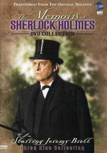 The Memoirs of Sherlock Holmes DVD Cover