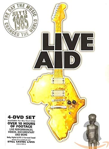 Live Aid in dvd 2