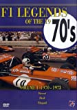F1 Legends Of The 1970s - Vol. 1 - 1970-1973