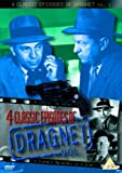 Dragnet - 4 Classic Episodes - Vol. 1 - Big Porn / Big Shoplift / Car Thieves / Doctor Slugged In Hotel