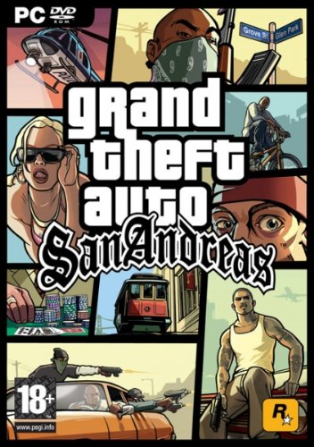 Grand Theft Auto GTA  San Andreas (PC)