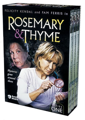 Rosemary and Thyme: Series One DVD Cover