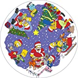 Susan Prescot Games Ltd The Simpsons CC106 Christmas Montage Jigsaw Puzzle 500 pcs