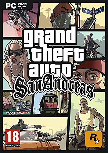 Télécharger sur eMule Grand Theft Auto : GTA - San Andreas