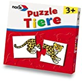 Kinderpuzzle: Noris 898-1801 - Tier-Puzzle fr Kleinkinder