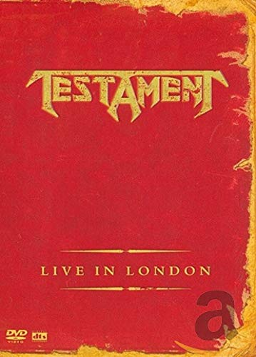 Cover of Testament - Live In London (DVD)