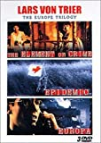 Lars Von Trier - The Europe Trilogy : The Element Of Crime / Epidemic / Europa - Coffret 3 DVD
