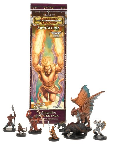 Wizards Of The Coast - Dungeons & Dragons Miniaturenspiel - Angelfire Booster