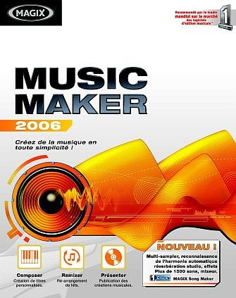 Télécharger MAGIX Music Maker 2006 v11.0.1.3