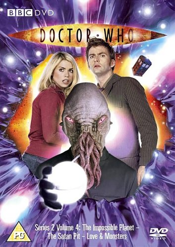Doctor Who - Love and Monsters cover